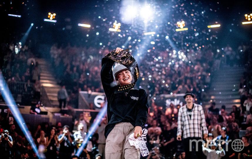Эми стала первой b-girl чемпионом BC One. Фото Предоставлено Red Bull