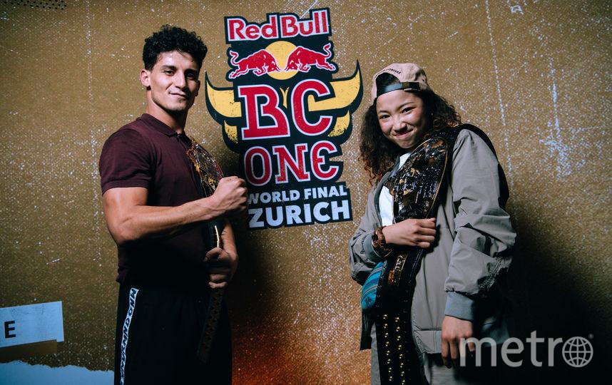 Чемпионы BC One-2018 Лил Зу и Эми. Фото Предоставлено Red Bull