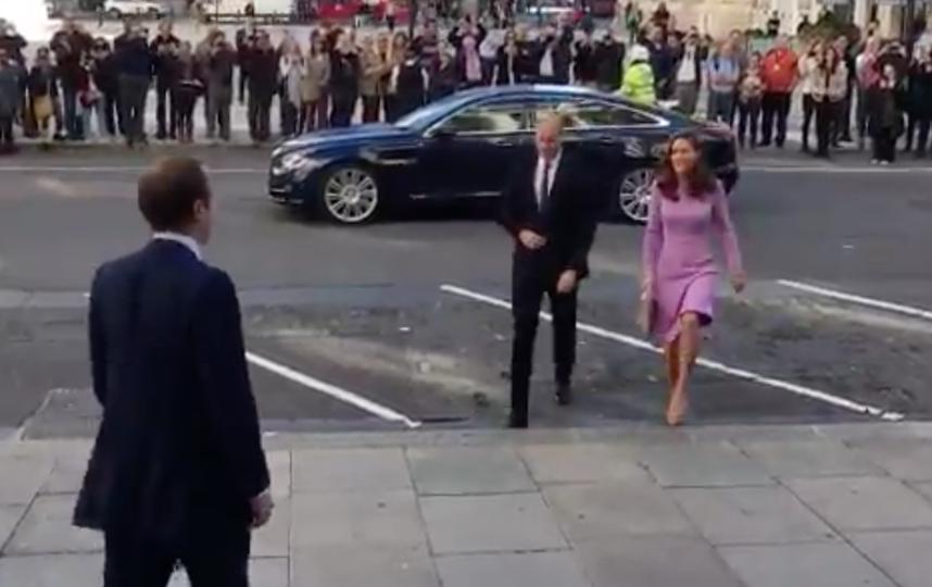 Кейт Миддлтон и принц Уильям прибыли на саммит 9 октября. Фото twitter.com/kensingtonroyal