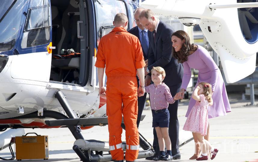 2017 год: Кейт Миддлтон и принц Уильям во время визита в Германию. Фото Getty
