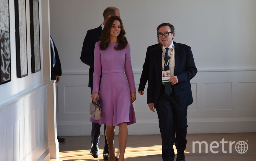 Кейт Миддлтон и принц Уильям прибыли на саммит 9 октября. Фото Getty