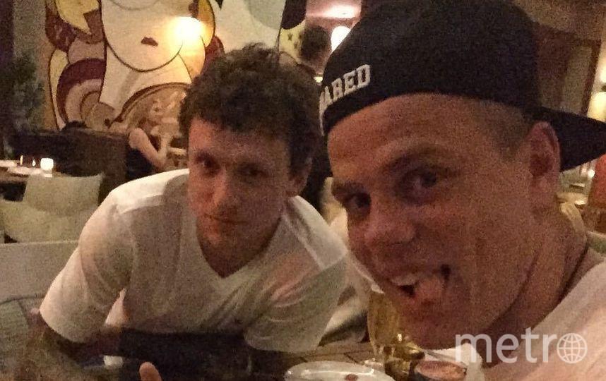 Александр Кокорин и Павел Мамаев. Фото Instagram
