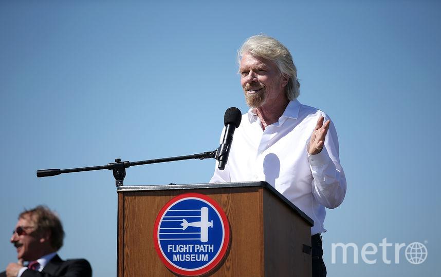 Ричард Брэнсон рассказал, когда первые туристы полетят в космос. Фото Getty
