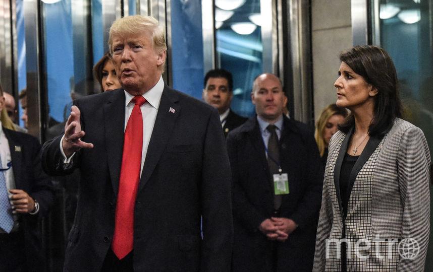 Никки Хейли подала в отставку. Трамп принял отставку Хейли. Фото Getty