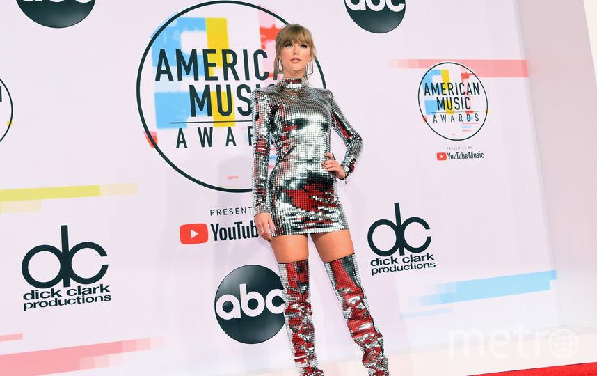 Тейлор Свифт на вручении American Music Awards-2018. Фото Getty