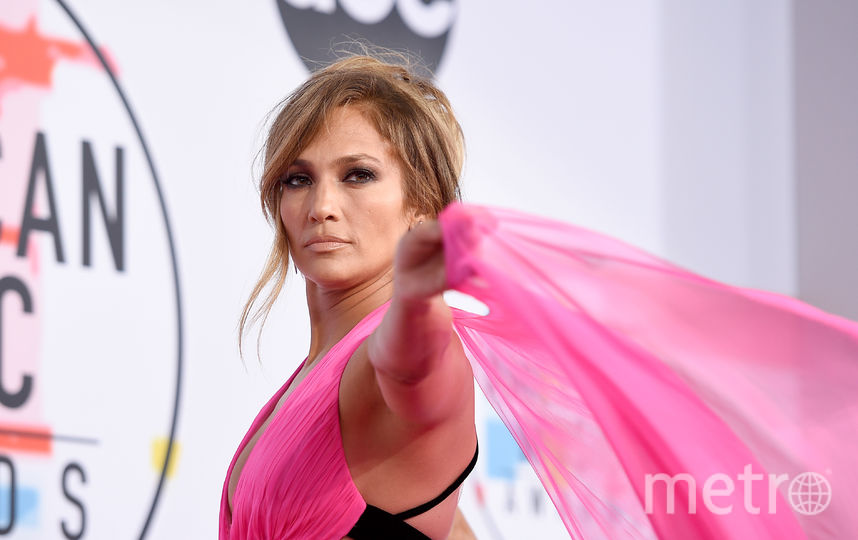 Дженнифер Лопес на вручении American Music Awards-2018. Фото Getty