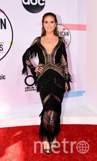 Хайди Клум на вручении American Music Awards-2018. Фото Getty