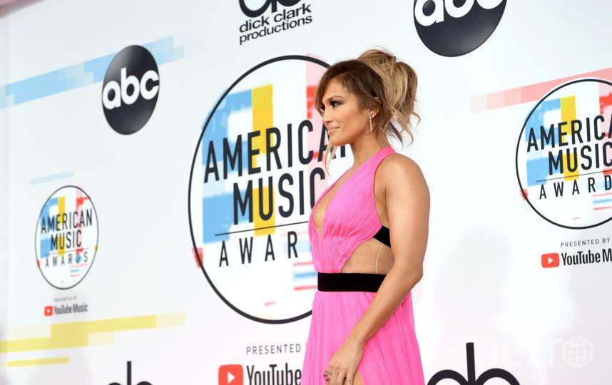 Дженнифер Лопес на вручении American Music Awards-2018. Фото Getty