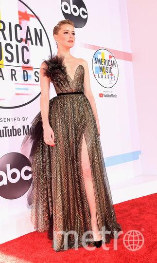 Эмбер Херд на вручении American Music Awards-2018. Фото Getty