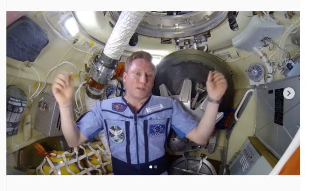 Сергей Прокопьев, космонавт. Фото instagram | prokopyev_iss