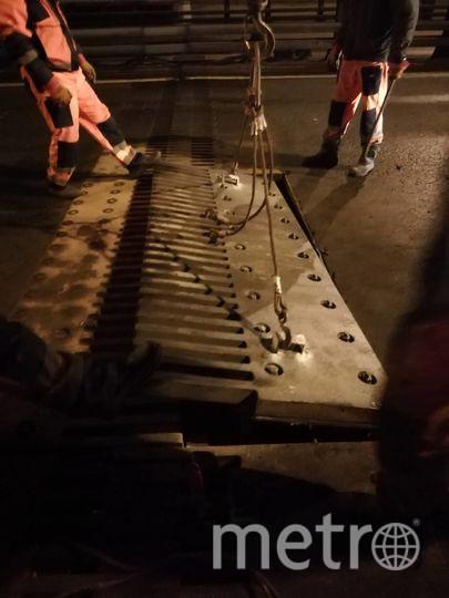 """Движение по Ладожскому мосту восстановлено. Фото ФКУ Упрдор """"Северо-Запад"""" , """"Metro"""""""
