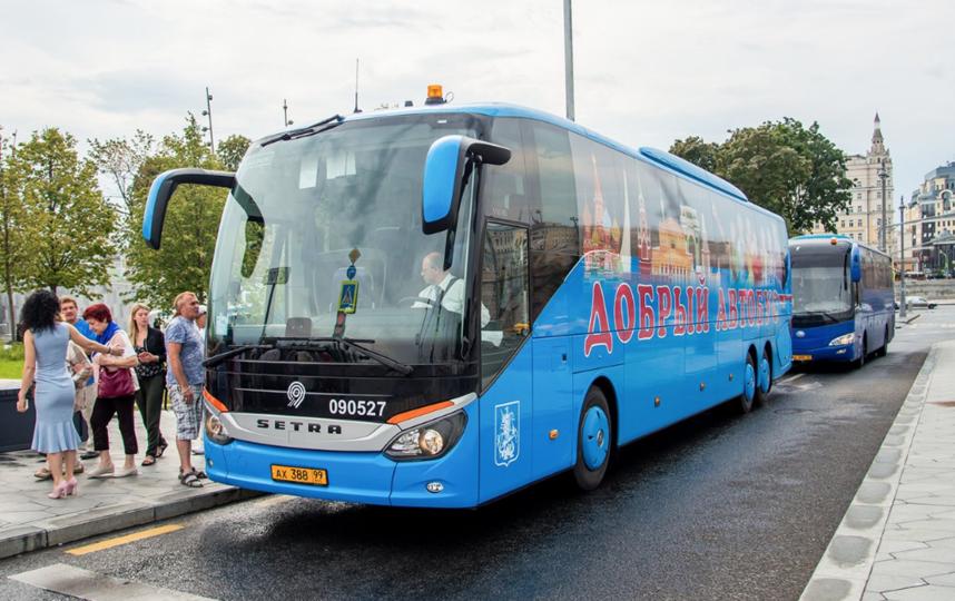 """Ещё два """"добрых автобуса"""" появится в Москве до конца года. Фото mos.ru"""