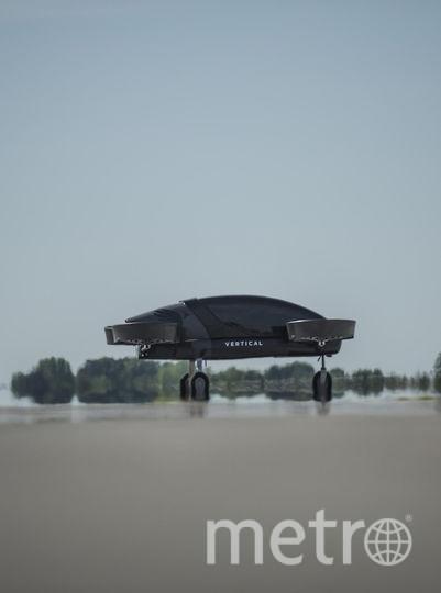 Заряда аккумулятора хватит, чтобы пролететь 800 км, утверждают разработчики. Фото Vertical Aerospace