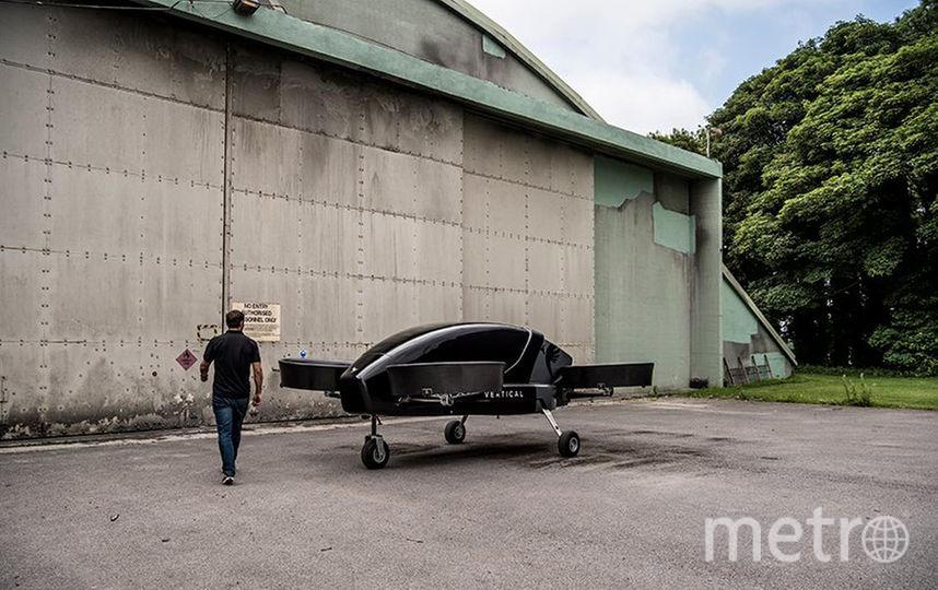 Модель разрабатывают инженеры из Boeing и Airbus. Фото Vertical Aerospace