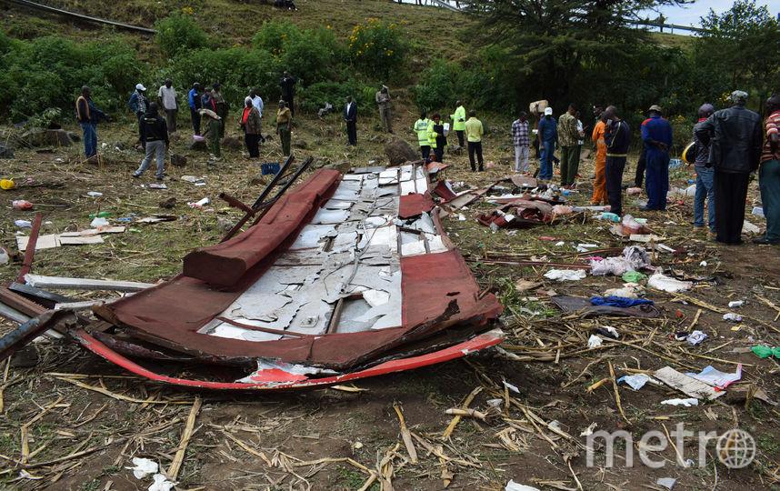 51 человек погиб в жуткой аварии в Кении. Фото AFP