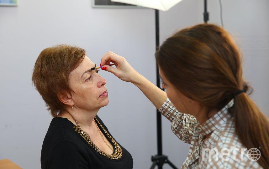 Процесс создания антивозрастного макияжа. Фото Василий Кузьмичёнок