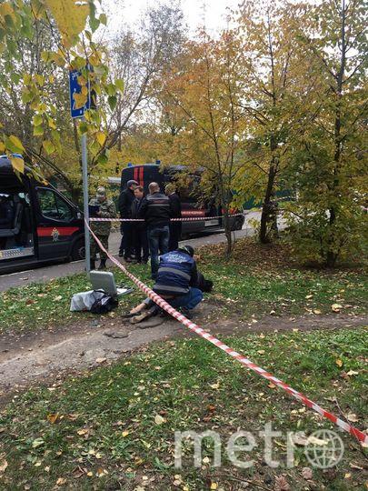 Место преступления. Фото mosobl.sledcom.ru