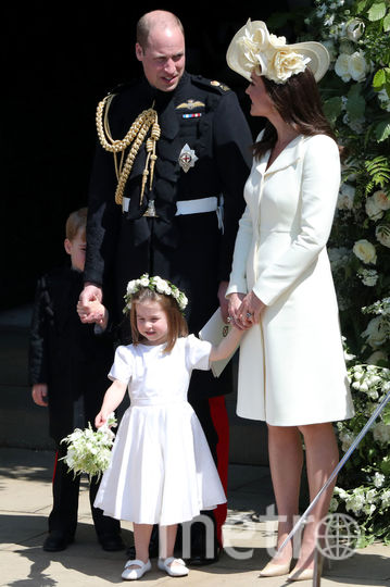 На свадьбе принца Гарри и Меган Маркл. Фото Getty