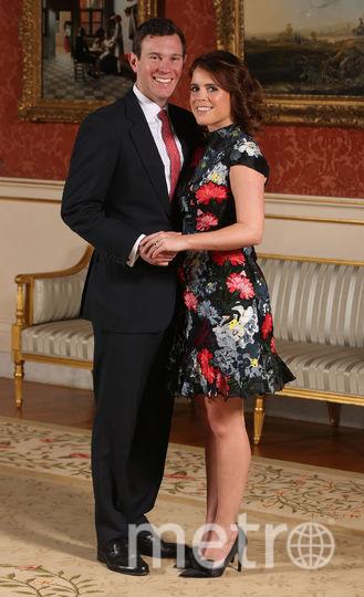 Принцесса Евгения с Джеком Бруксбэнком. Фото Getty