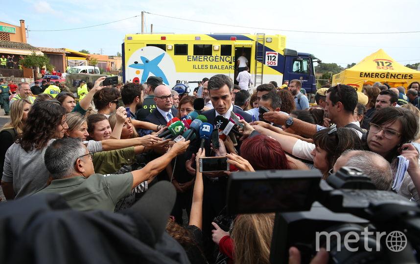 Остров посетил премьер-министр Испании Педро Санчес. Фото AFP