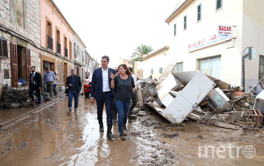 На Майорке страшное наводнение. Остров посетил премьер-министр Испании Педро Санчес. Фото AFP