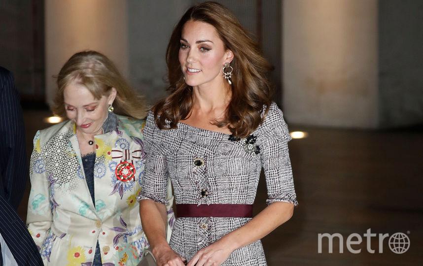 Герцогиня Кэтрин на открытии галереи в Лондоне. Фото Getty