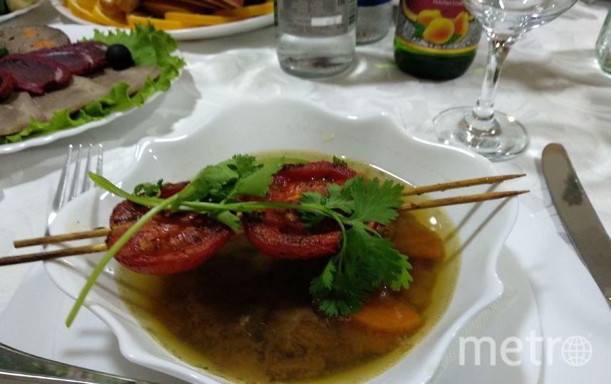 "Суп получился аппетитным. Фото Алексей Ширинкин, ""Metro"""