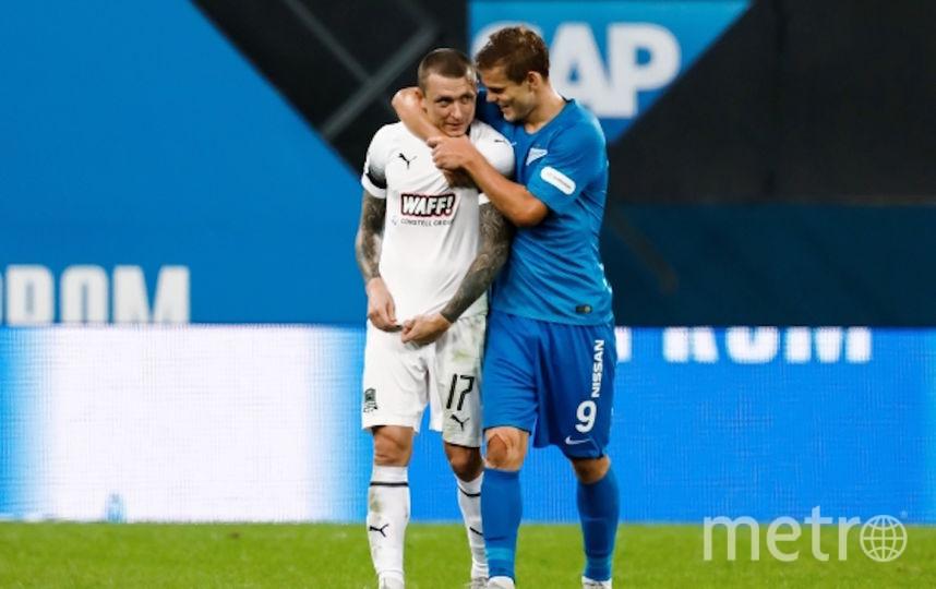 Мамаев и Кокорин. Фото РИА Новости