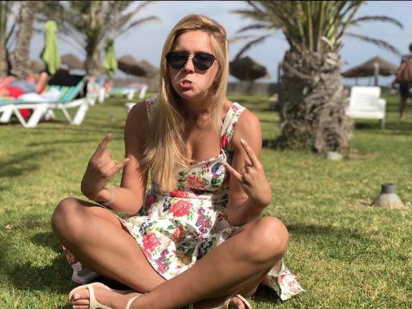 Оксана Яковлева. Фото Скриншот Instagram/yakovleva.ksana