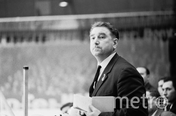 Легендарный тренер Анатолий Тарасов. Фото РИА Новости