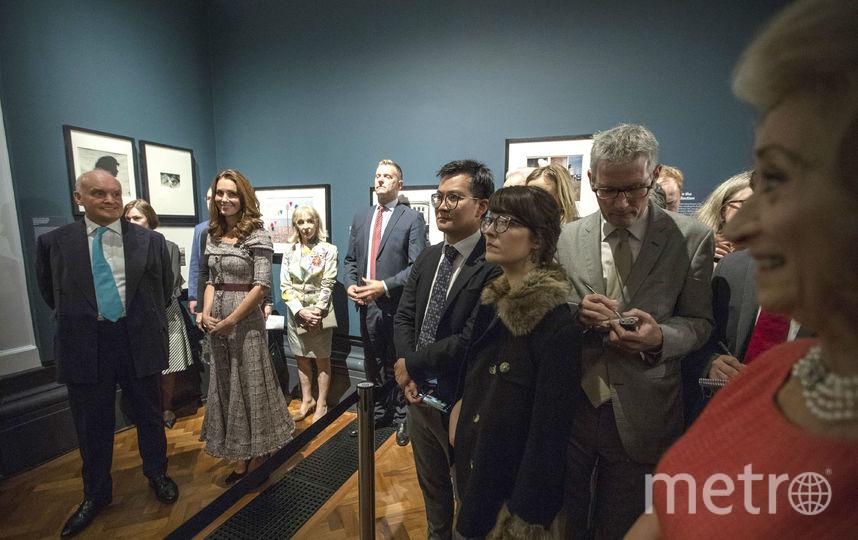 Кейт Миддлтон осмотрела экспозицию. Фото Getty
