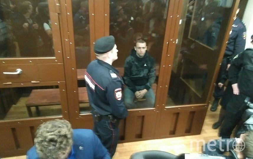 Павел Мамаев в зале суда. Фото Дмитрий Роговицкий