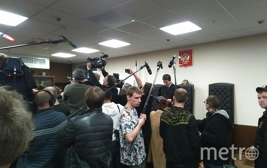 Заседание по делу Мамаева. Фото Дмитрий Роговицкий