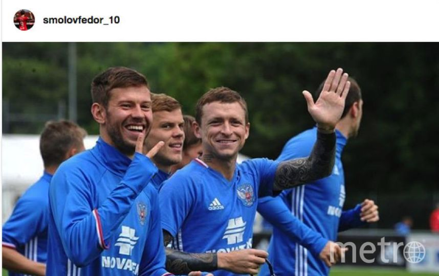 Федор Смолов вступился за Мамаева и Кокорина.