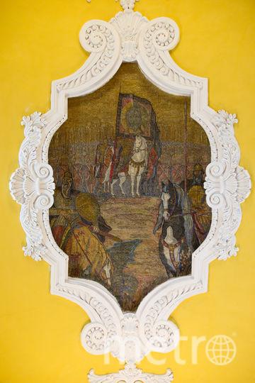 Князь Дмитрий Донской, Александр Пересвет и Андрей Ослябя перед Куликовской битвой. Фото Василий Кузьмичёнок