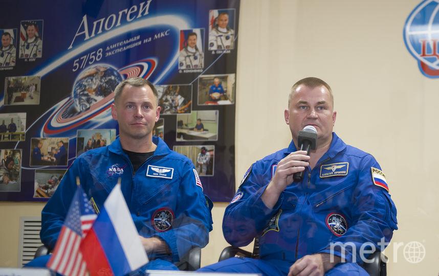 Алексей Овчинин и Ник Хейг. Фото roscosmos.ru