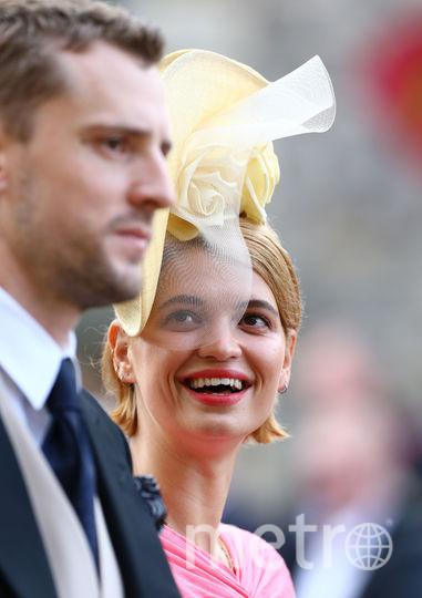 Гости на свадьбе Принцессы Евгении. Фото AFP