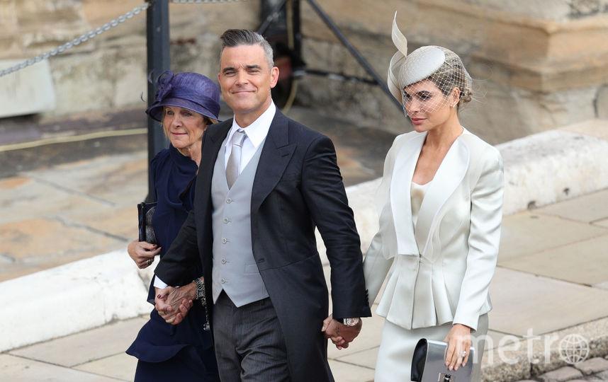 Робби Уильямс с женой. Фото AFP