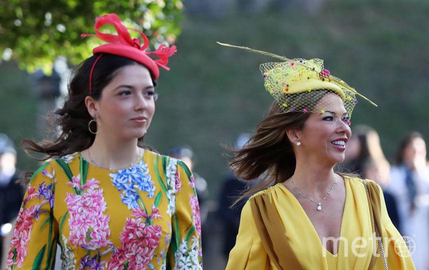 Гости на свадьбе принцессы Евгении. Фото Getty