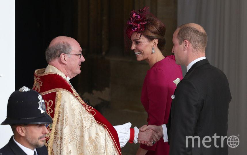 Кейт Миддлтон и принц Уильям прибыла на свадьбу принцессы Евгении. Фото Getty