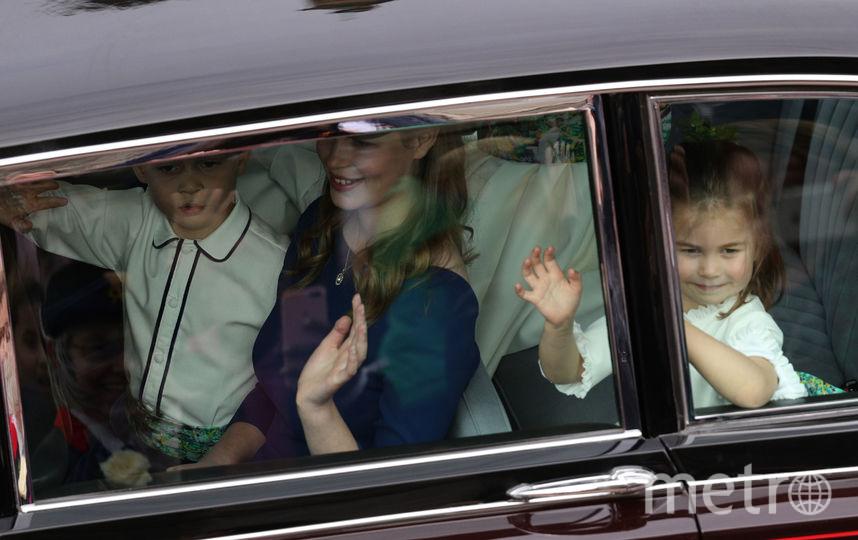 Принцесса Шарлотта с принцем Джорджем. Фото Getty