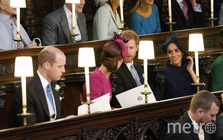 Принц Уильям, Кейт Миддлтон, принц Гарри, Меган Маркл. Фото Getty