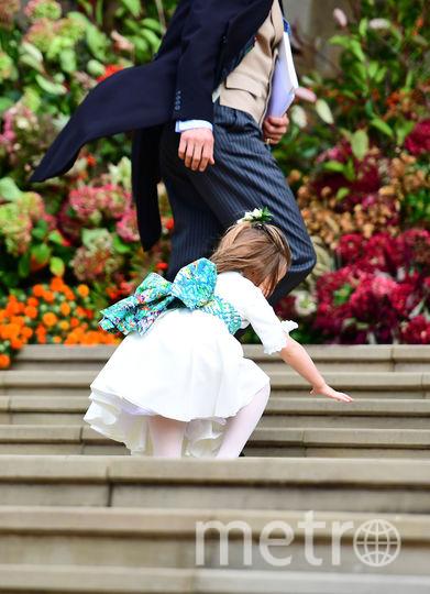 Дети на свадьбе принцессы Евгении. Фото Getty