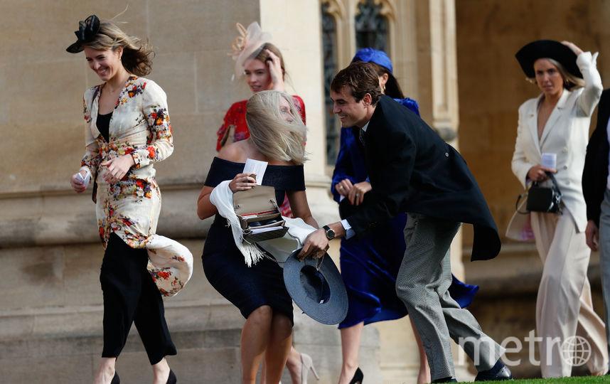 Ветер уносил шляпки гостей. Фото Getty