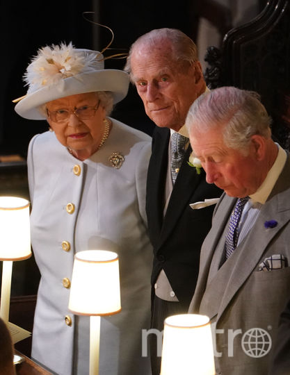 Елизавета II, принц Филипп и принц Чарльз. Фото Getty