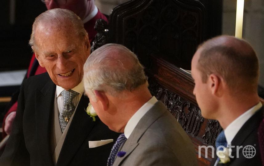 Принц Филипп, принц Чарльз и принц Уильям. Фото Getty
