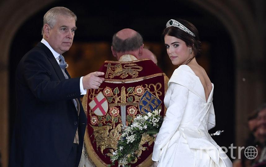Принцесса Евгения с отцом. Фото Getty