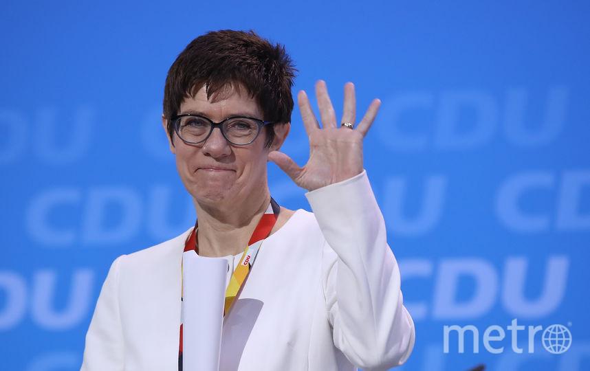 Новый генеральный секретарь ХДС Аннегрет Крамп-Карренбауэр. Фото Getty