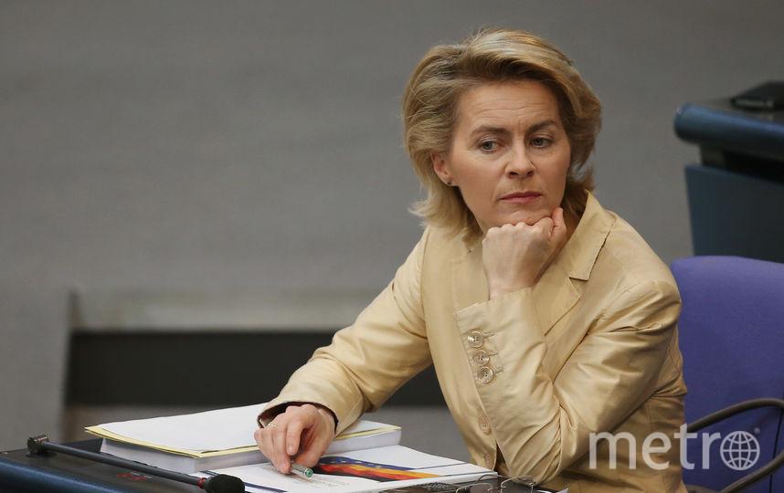 Министр обороны Урсула фон дер Ляйен. Фото Getty