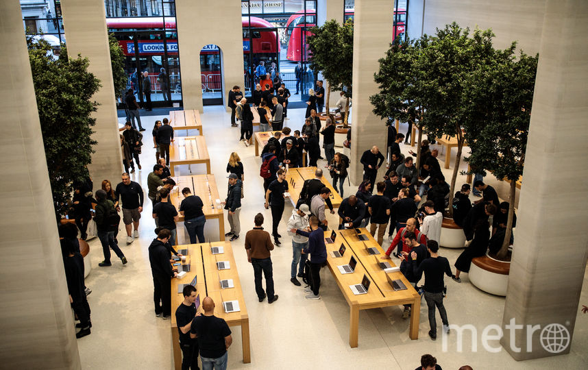 Магазин Apple. Фото Getty
